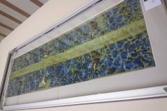 borduurwerk inlijsten dubbel zijdig glas