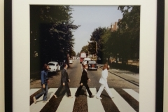 the beatles abbey road ingelijst