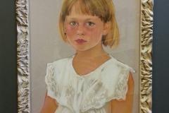 portret pastel inlijsten